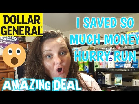 MUST SEE DOLLAR GENERAL DEAL HURRY