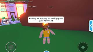 Adopt me! ! the most popular game on ROBLOX/ Teach you how to get neon pet