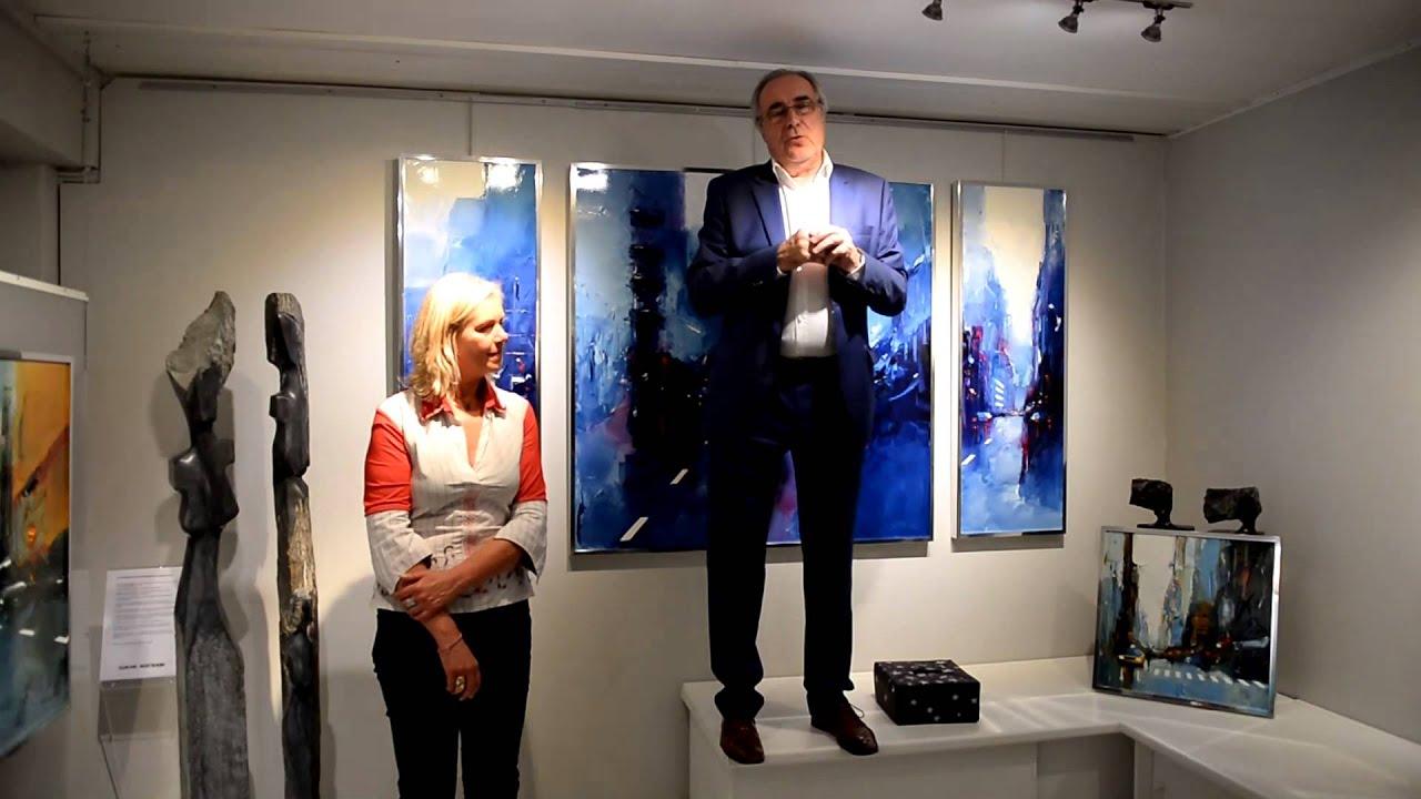 Daniel castan touquet paris plage youtube for Castan peintre