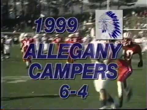 Allegany Football 1999