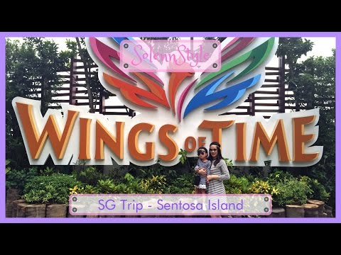 Solenn's Singapore Trip 2016 - Sentosa Island Wings of Time