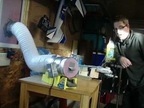 Rc Nitro Engine Test Bench Mov Youtube