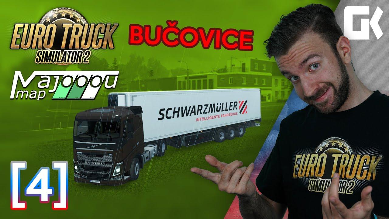 BUČOVICE ANEB NOVÁ VERZE 2.0!   Euro Truck Simulator 2 MajooouMap #04