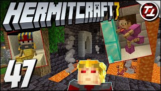 Licking Diamonds and Building Temples! - Hermitcraft 7: #47
