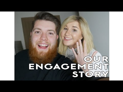 OUR ENGAGEMENT STORY! Sharky & Little Kelly