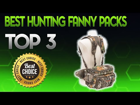 Best Hunting Fanny Packs 2019 - Hunting Fanny Pack Review