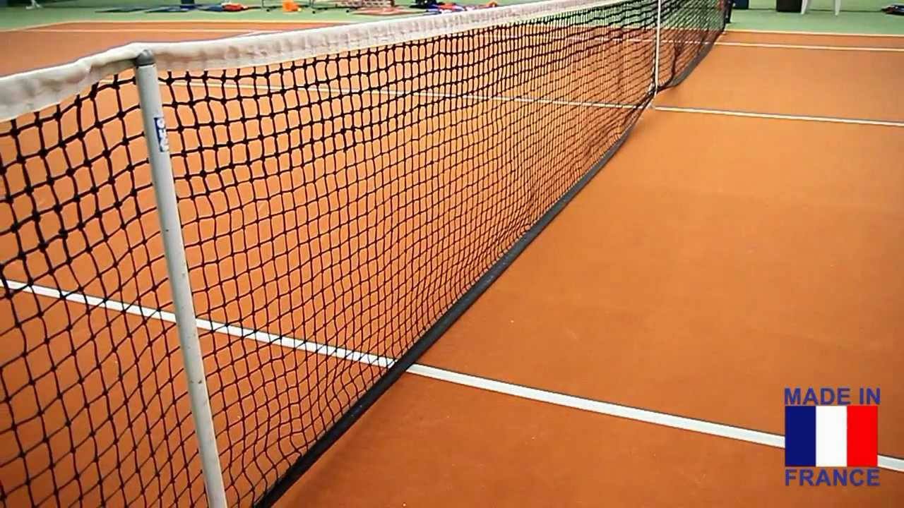 filet de tennis de la marque disci sports youtube. Black Bedroom Furniture Sets. Home Design Ideas