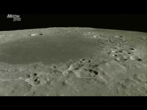 A journey across the moon  Incredible video of the lunar surface