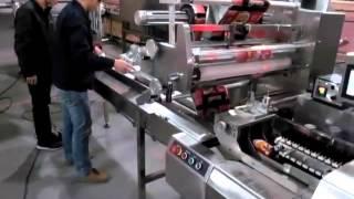 AHP-600-S3 Top Film Rotary Sealing Horizontal Flow Pack Machine
