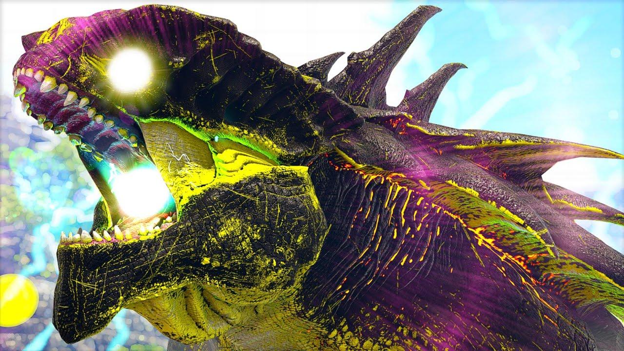 O RETORNO do Mais DEVASTADOR Eletric King Titan! É o Fim? Adeus Pai Indoraptor! - Ark Dinossauros