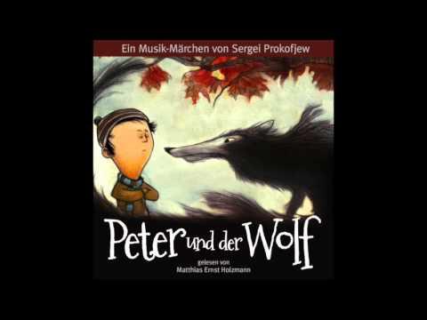peter und der wolf ein musikalisches m rchen von sergej prokofjew youtube. Black Bedroom Furniture Sets. Home Design Ideas