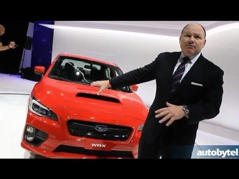 2015 Subaru WRX Walkaround Video Review @ 2013 LA Auto Show