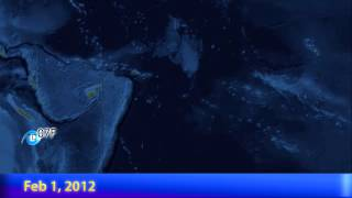 2011-12 South Pacific Cyclone Season Animation