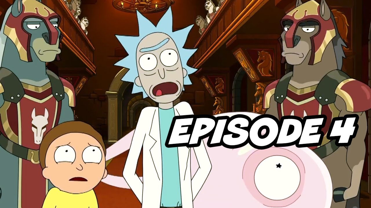 Rick And Morty Season 5 Episode 4 Top 10 Breakdown Easter Eggs And Things You Missed Youtube