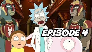 Rick and Morty Season 5 Episode 4 TOP 10 Breakdown, Easter Eggs and Things You Missed