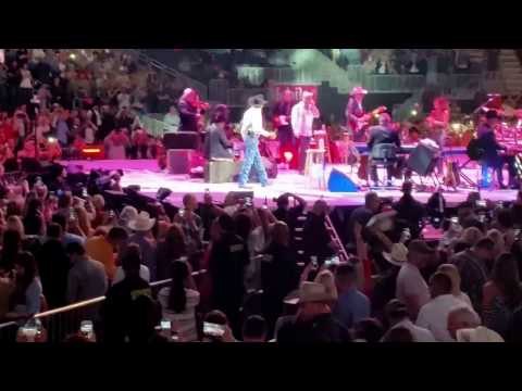 George Strait - Stage Entrance T-Mobile Arena Las Vegas
