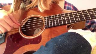 How to play butterfly fly away on guitar