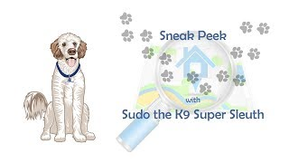 Sneak Peek with Sudo the K9 Super Sleuth