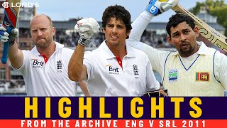Openers Cook & Dilshan Lead From the Front! | Classic Match | England v Sri Lanka 2011 | Lord's