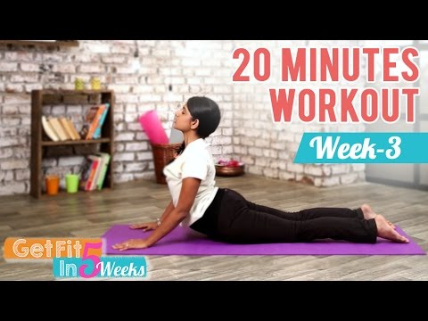 Week 3 – Cardio and Abs | Get Fit in 5 Weeks | Yogalates With Rashmi