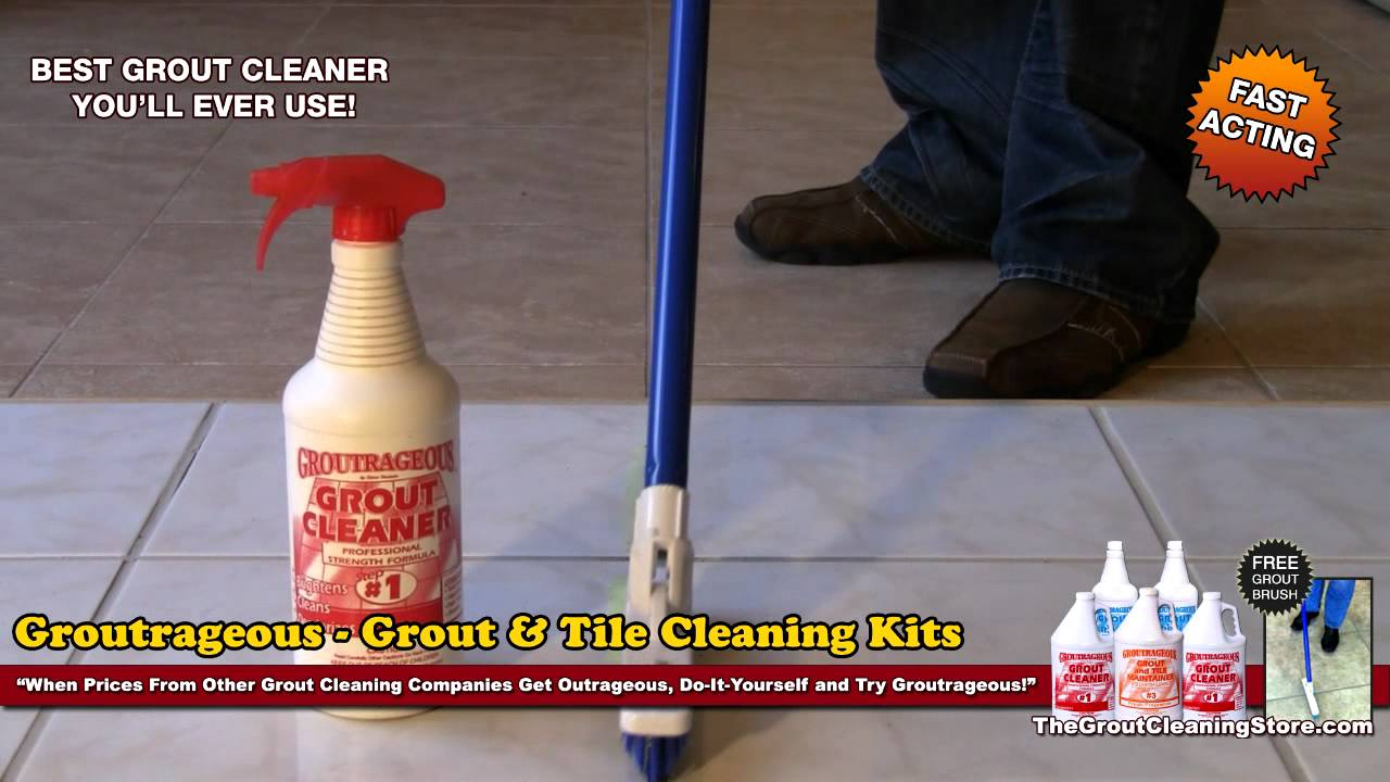 Best Grout Cleaner To Clean Dirty Grout Youtube