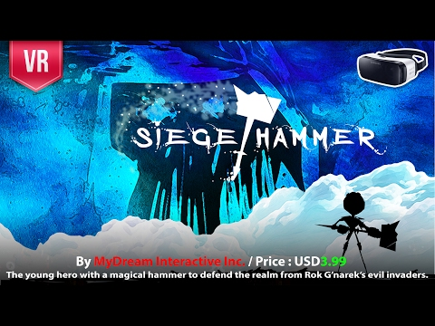 Siege Hammer Gear VR a uniquely-designed strategic VR. Will you be the anvil… or the hammer?
