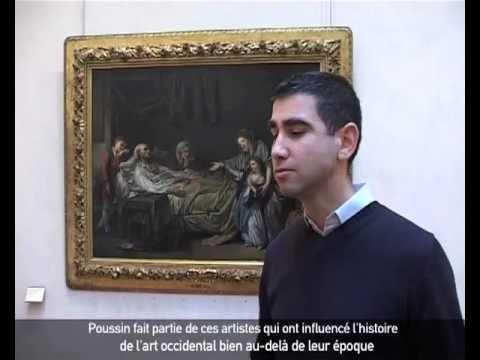 Jean-Christophe Stuccilli, Nicolas Poussin, musée des Beaux Arts de Lyon.flv