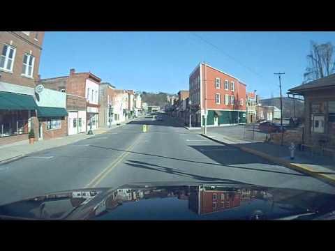A Drive through Clifton Forge VA