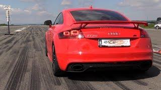 440HP Audi TT RS ABT w/ Milltek Exhaust - 231.71 km/h in 1/2 Mile Run! thumbnail