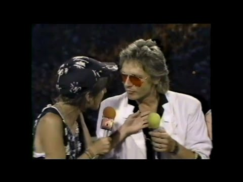 MTV Interview - Benjamin Orr (MTV - Live Aid 7/13/1985)