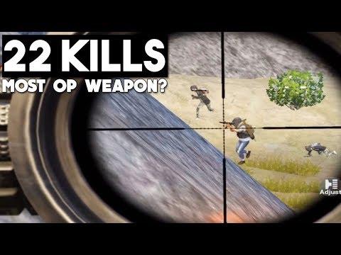 WHY I LOVE THE MINI14!   22 KILLS SOLO vs SQUAD   PUBG Mobile