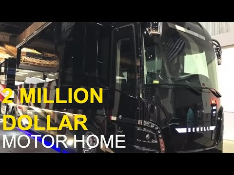 2 Million Dollar Motor Home Tour: Newell Coach | Full Time RV Living