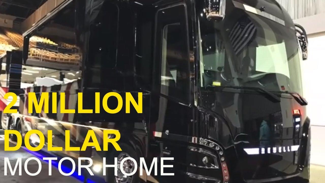 2 Million Dollar Motor Home Tour: Newell Coach | Full Time RV Living