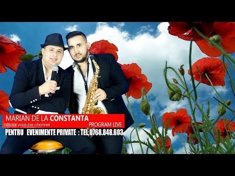 MARIAN DE LA CONSTANTA -COLAJ MUZICA DE PETRECERE   LIVE