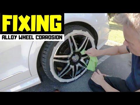 Alloy Wheel Corrosion Cleaning - DIY