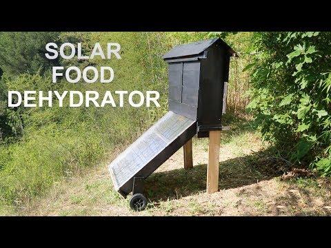 Solar Food Dehydrator - Drying Tomatoes