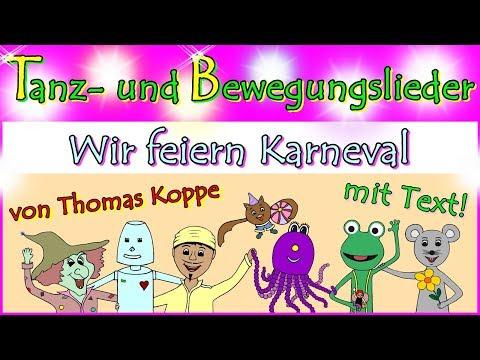 kinderfaschingslieder,-kindertanzlieder-zum-tanzen,-video-mit-text,-kinderlieder-von-thomas-koppe