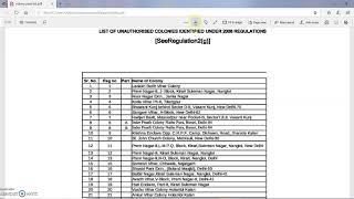 क्या आपकी कॉलोनी नियमित हो गई है? यहाँ जानिए!    New regularization list of colonies in Delhi 2019