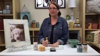 FolkArt Home Decor: How To Create a Distressed Finish With Donna Dewberry