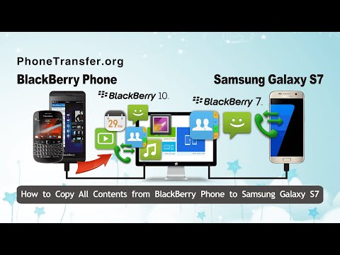 Methods to Transfer BlackBerry Contacts to Samsung Phone or