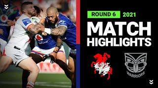 Dragons v Warriors Match Highlights   Round 6, 2021   Telstra Premiership   NRL