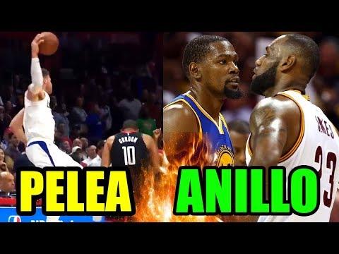 PELEA, WARRIORS, CAVALIERS Y ANILLO NBA