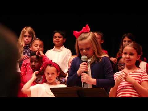 McAlpine Elementary School 2nd Grade Patriotic Program