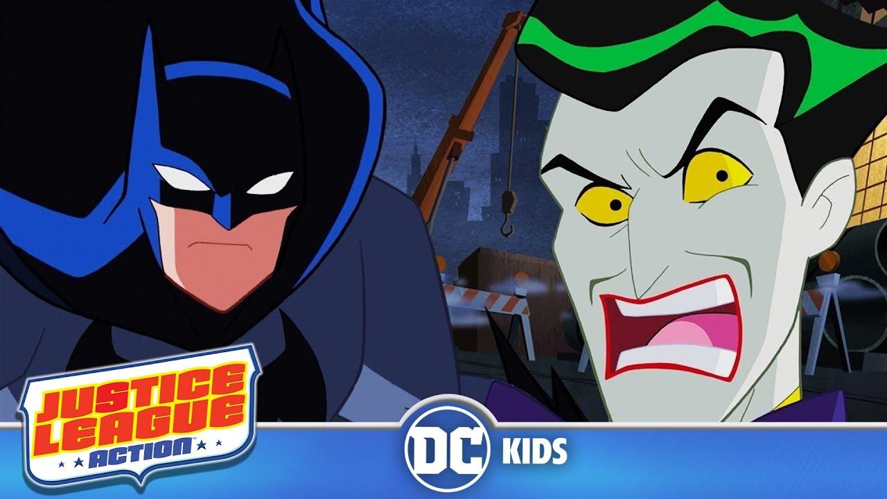 Justice league action in italiano batman contro joker dc kids