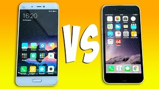 Xiaomi Mi5 vs iPhone 6 - ЧТО ЛУЧШЕ?