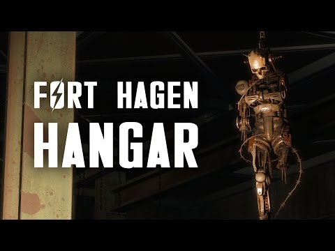 Automatron 2: The Full Story of Fort Hagen Satellite Array & Hangar - Headhunting - Fallout 4 Lore