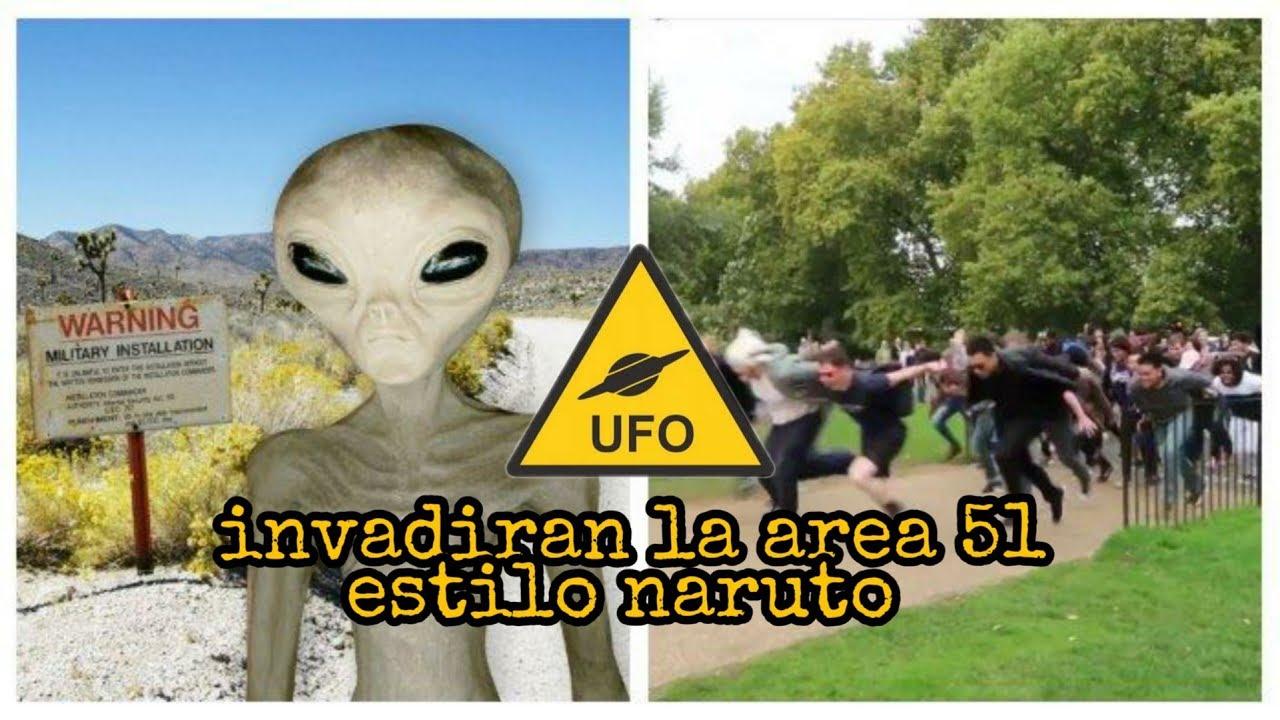 Plan para invadir el area 51???? ????asistiran millones de personas????