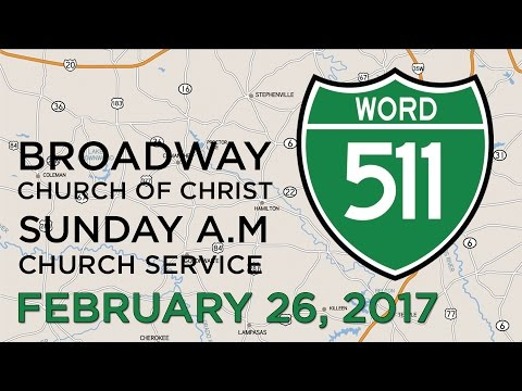 Road Map for Life - Feb.26, 2017