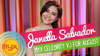 Download Janella Salvador is our MYX Celebrity VJ for August! MP3 song and Music Video