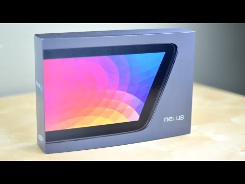Google Nexus 10 Tablet Unboxing!
